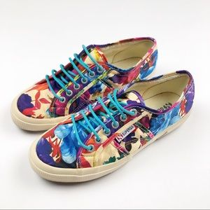 Superga Floral Sneakers